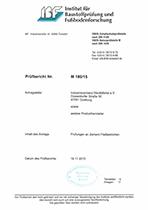 Gutachten Pruefbericht M 180 15 29 02 2016
