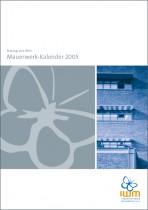 Merkblatt Broschuere Mauerwerk Kalender 2005
