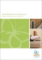 Merkblatt Broschuere Wohlfuehlwaende Mit Kalkputzen