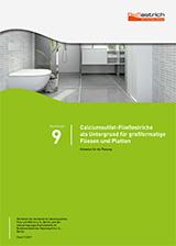Merkblatt Estrich Nr9